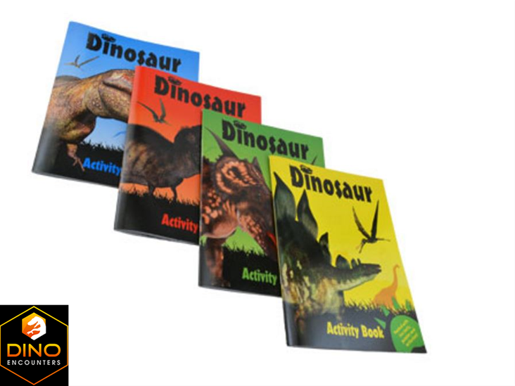 Dinosaur Activity Books