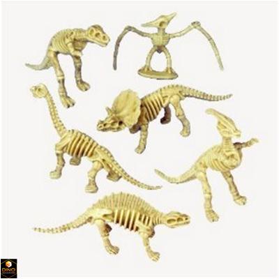 Plastic Dinosaur Skeletons