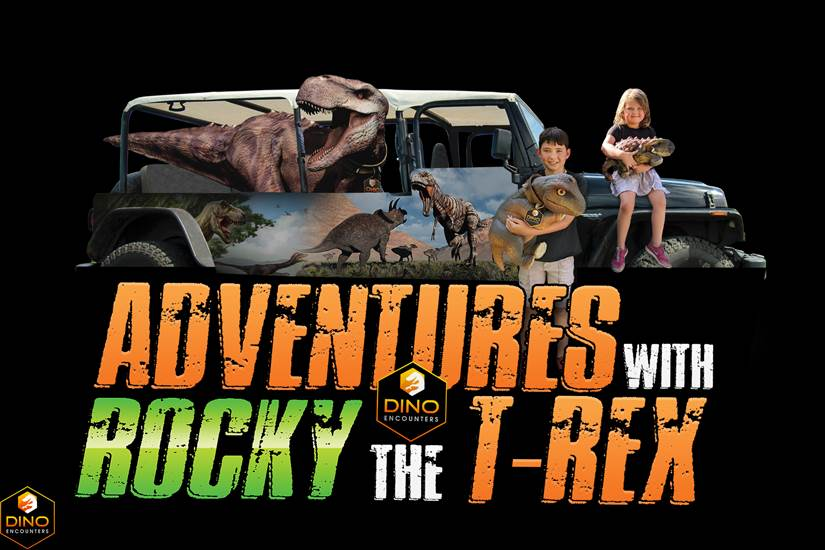 <p>Adventures with Rocky the T-Rex!</p>
